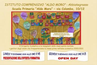 locandina open day scuola primaria 1